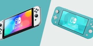 Nintendo Switch OLED VS Lite VS Original