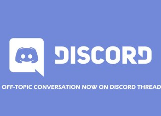 Off-Topic Conversation Now on Discord Thread