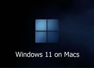 Windows 11 on Macs