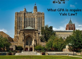 What GPA is required for Yale Law