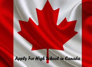 Apply For High School in Canada