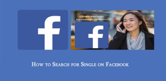 How to Search for Single on Facebook