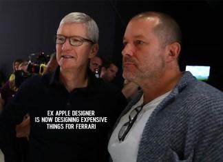 Ex Apple Designer Is Now Designing Expensive Things for Ferrari