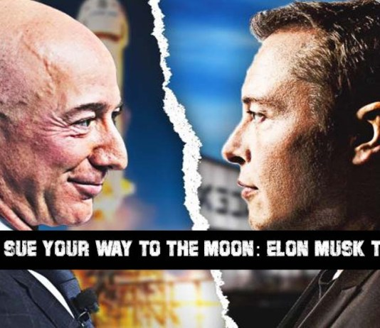 You Cannot Sue Your Way to the Moon: Elon Musk to Jeff Bezos