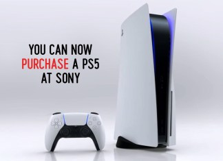 You Can Now Purchase a Ps5 at Sony