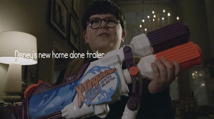 Disney's new home alone trailer