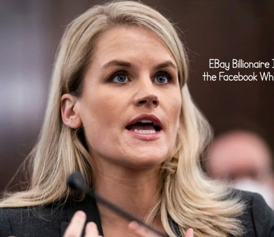 EBay Billionaire Is Backing the Facebook Whistle Blower