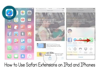 How to Use Safari Extensions on IPad and IPhones