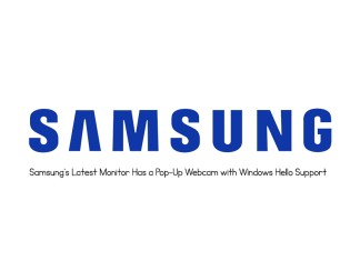 Samsung's Latest Monitor Has a Pop-Up Webcam with Windows Hello Support