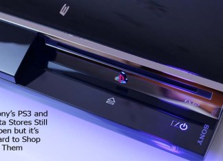 Sony's PS3 and Vita Stores Still Open but it's Hard to Shop at Them