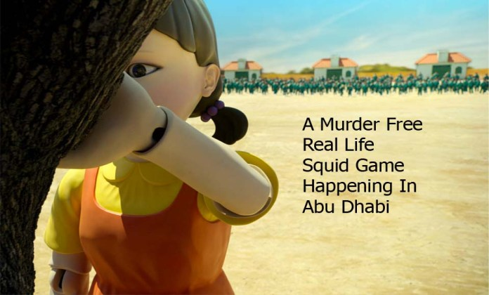 A Murder Free Real Life Squid Game Happening In Abu Dhabi
