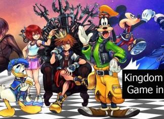Kingdom Hearts Game in Order