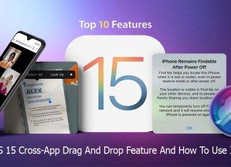 iOS 15 Cross-App Drag And Drop Feature And How To Use It