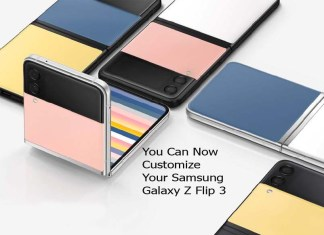 You Can Now Customize Your Samsung Galaxy Z Flip 3