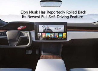 Elon Musk Has Reportedly Rolled Back Its Newest Full Self–Driving Feature