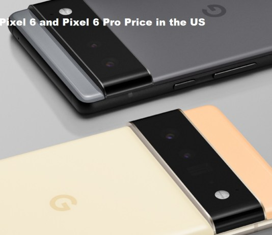 Pixel 6 and Pixel 6 Pro Price in the US