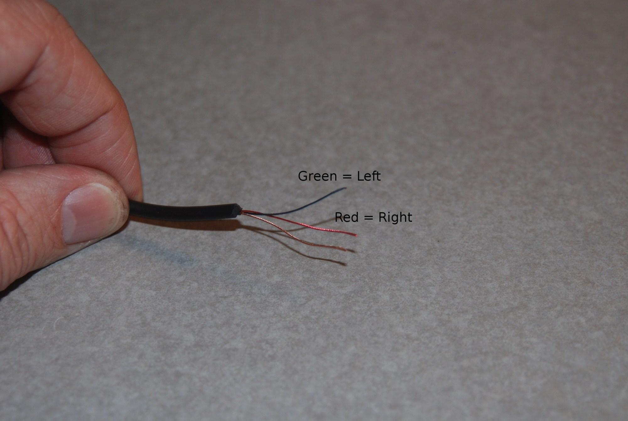 hight resolution of wiring stereo headphone