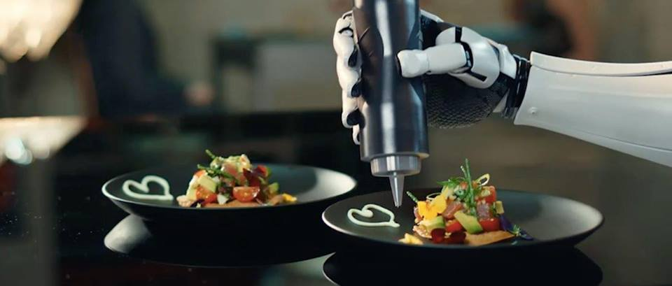 kitchen robot home decor a in the new frontiers of chefs mk1 is not classic meant to help you at cooking this first world s robotic developed by moley robotics