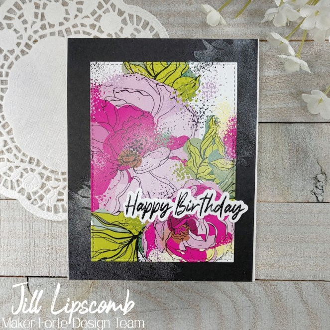 Super Quick Cards with Patterned Paper - birthday!