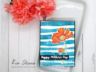 Watercolored Mother's Day Card