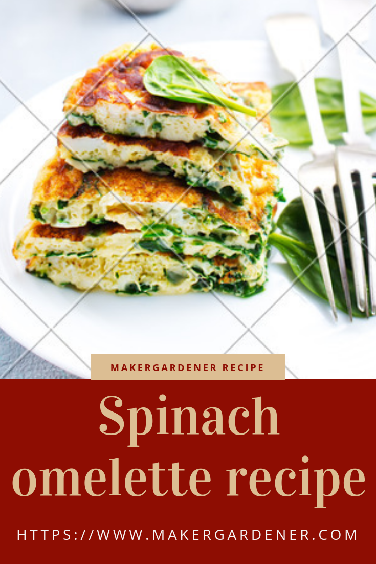 spinach omellete