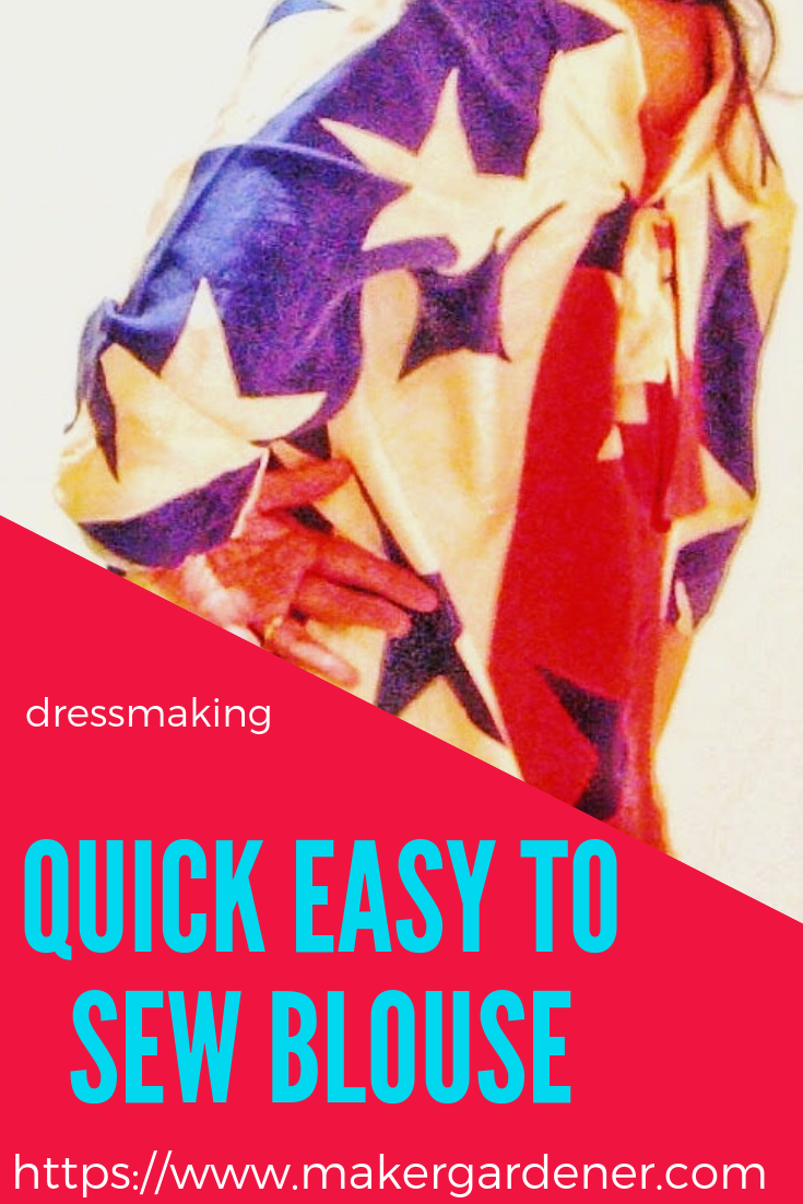 quick easy to sew blouse