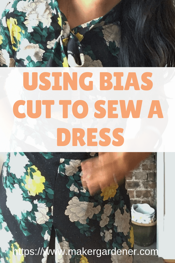 bias cut for a dress