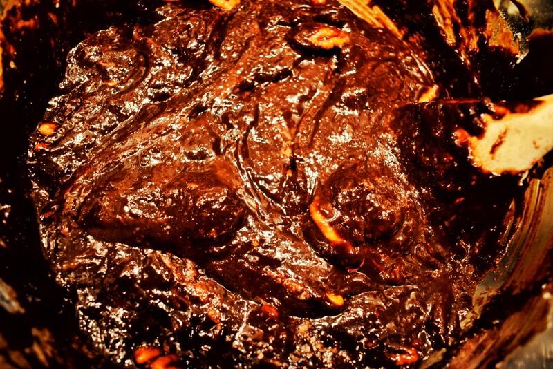 brownie mixture