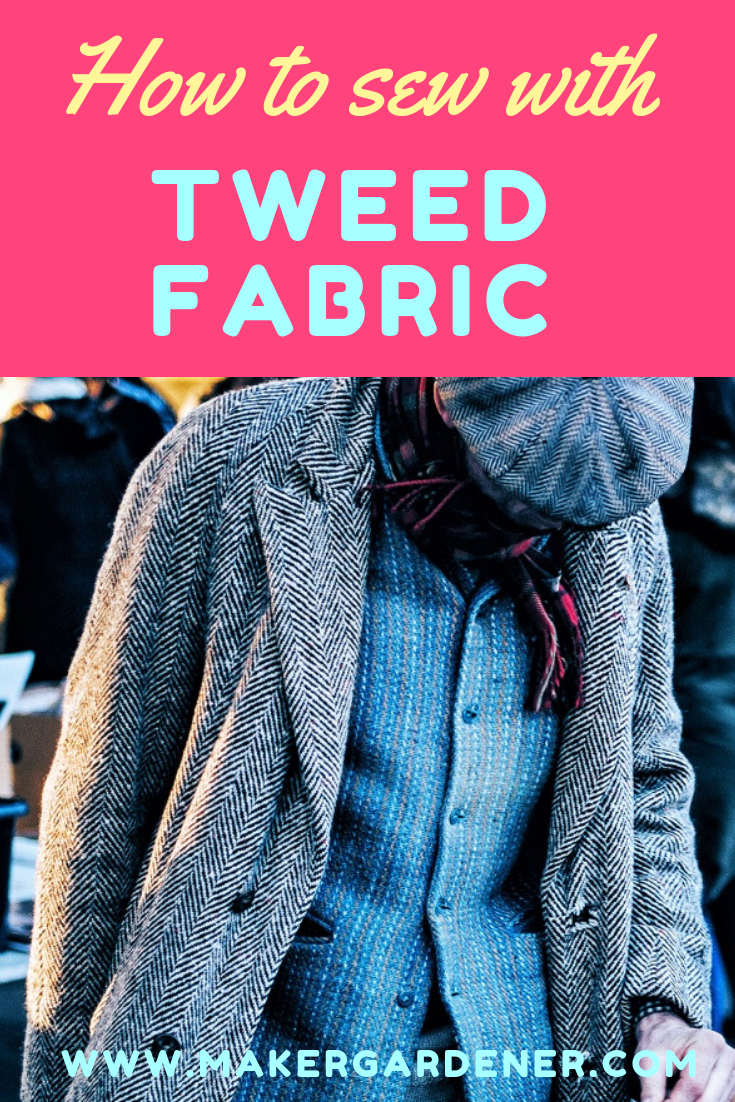 how to sew tweed