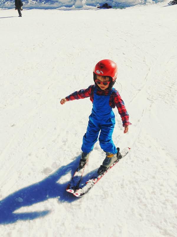 skiing Menaggio slope