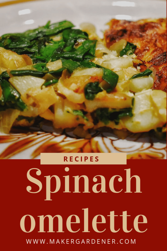 spinach omelette