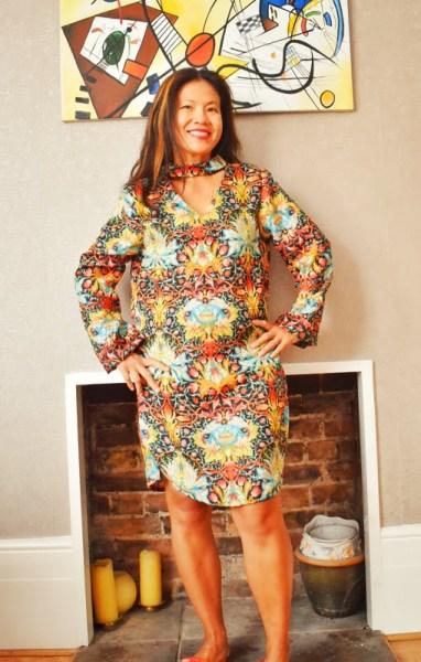 dress from la mia baoutique magazine