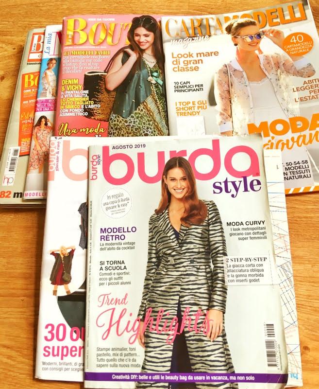 italian sewing magazines