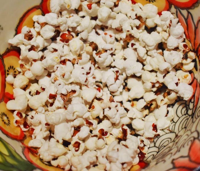 How to make popcorn from corn at home