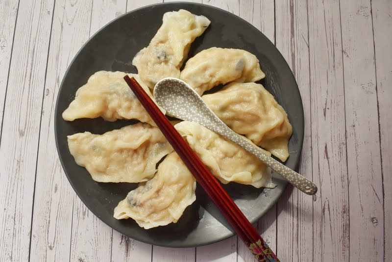 Pork and prawn dumpling