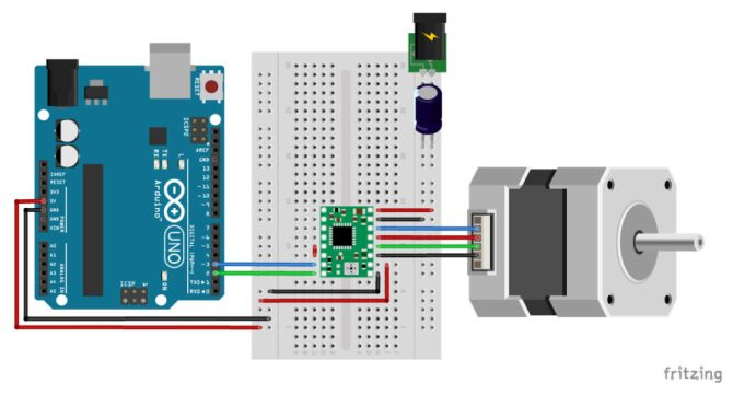 a4988 stepper motor driver with arduino tutorial 4 examples