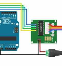 28byj 48 stepper motor uln2003 driver wiring diagram  [ 1400 x 659 Pixel ]