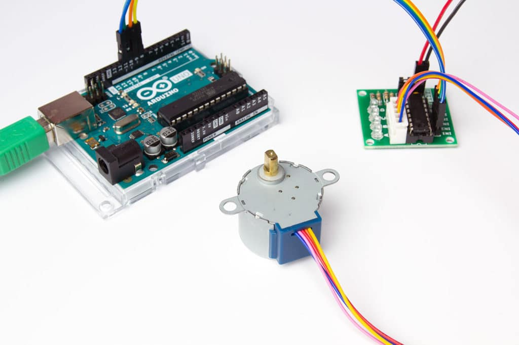 Arduino Stepper Motor Driver Stepper Motor Driver Circuit Diagram