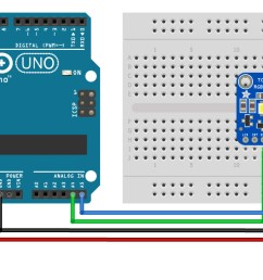 tcs34725 with arduino wiring diagram schematic pinout [ 1400 x 628 Pixel ]