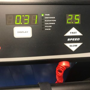 Up to 25 mph on the treadmill at physical therapyhellip