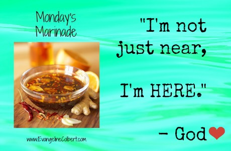 Monday's Marinade-God is here