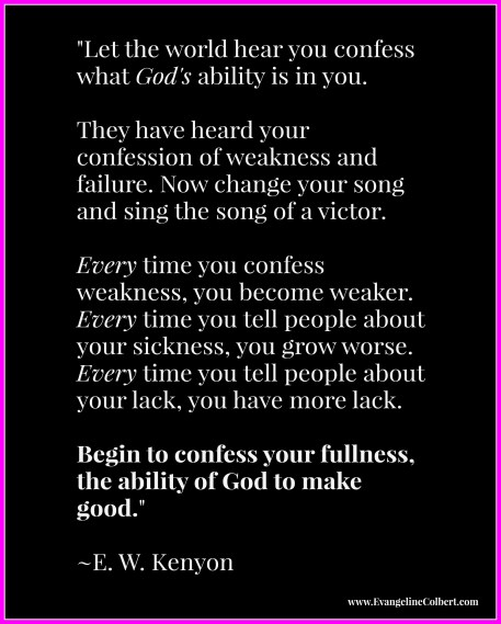 Kenyon on Confession