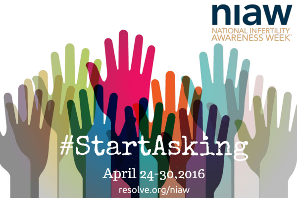 National Infertility Awareness Week--Ask Questions During NIAW!