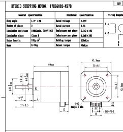 nema 17 bipolar stepper 1 8deg 12v 1 5a 0 65nm 42x42x60mm 4 wires nema17 [ 1546 x 1406 Pixel ]