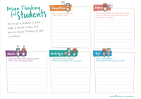 Design Thinking Cycle Worksheet (1 page) | Makers Empire ...
