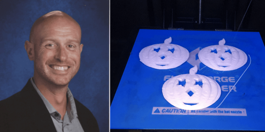 chris burdman, teacher, 3d printing tips