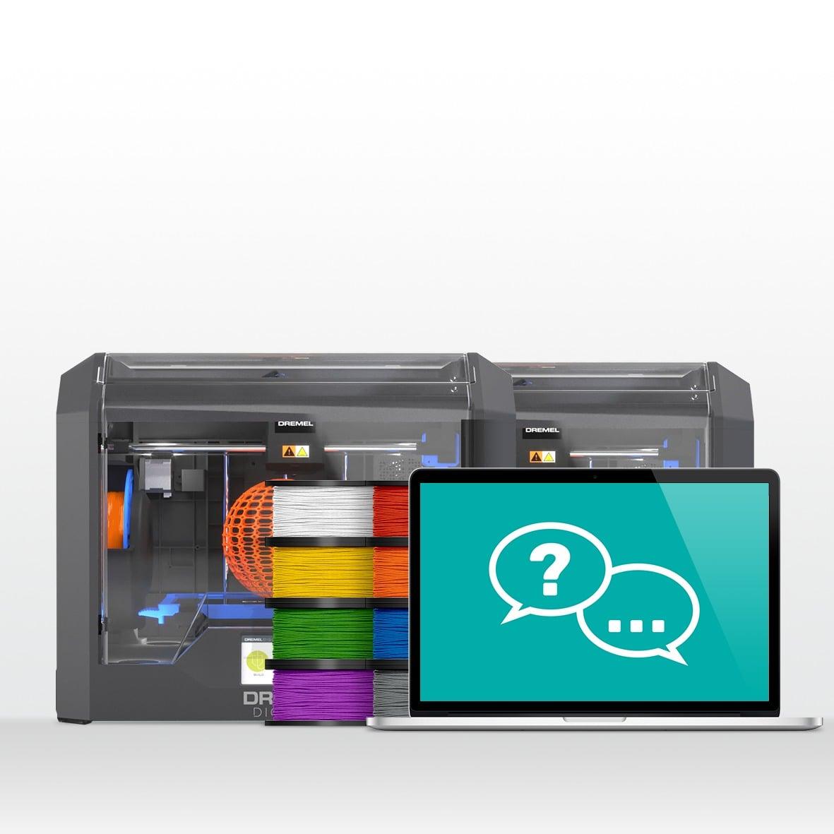 MAK_Shop_1902_3D45 2 Printer Bundle