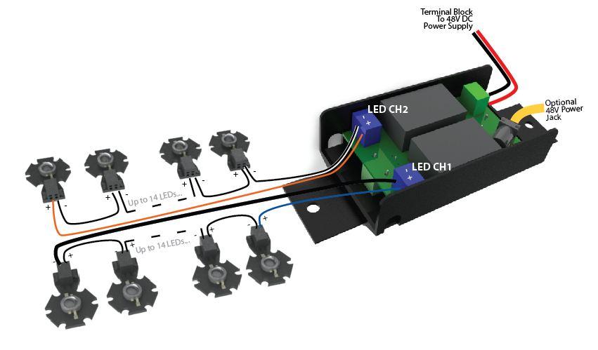 Led Grow Light Wiring Diagram