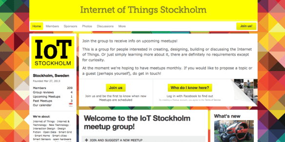 Internet of Things Stockholm