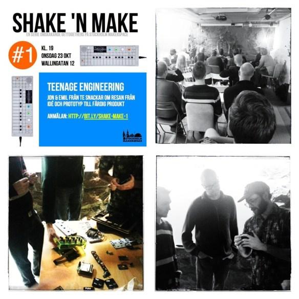 Teenage Engineering på Stockholm Makerspace